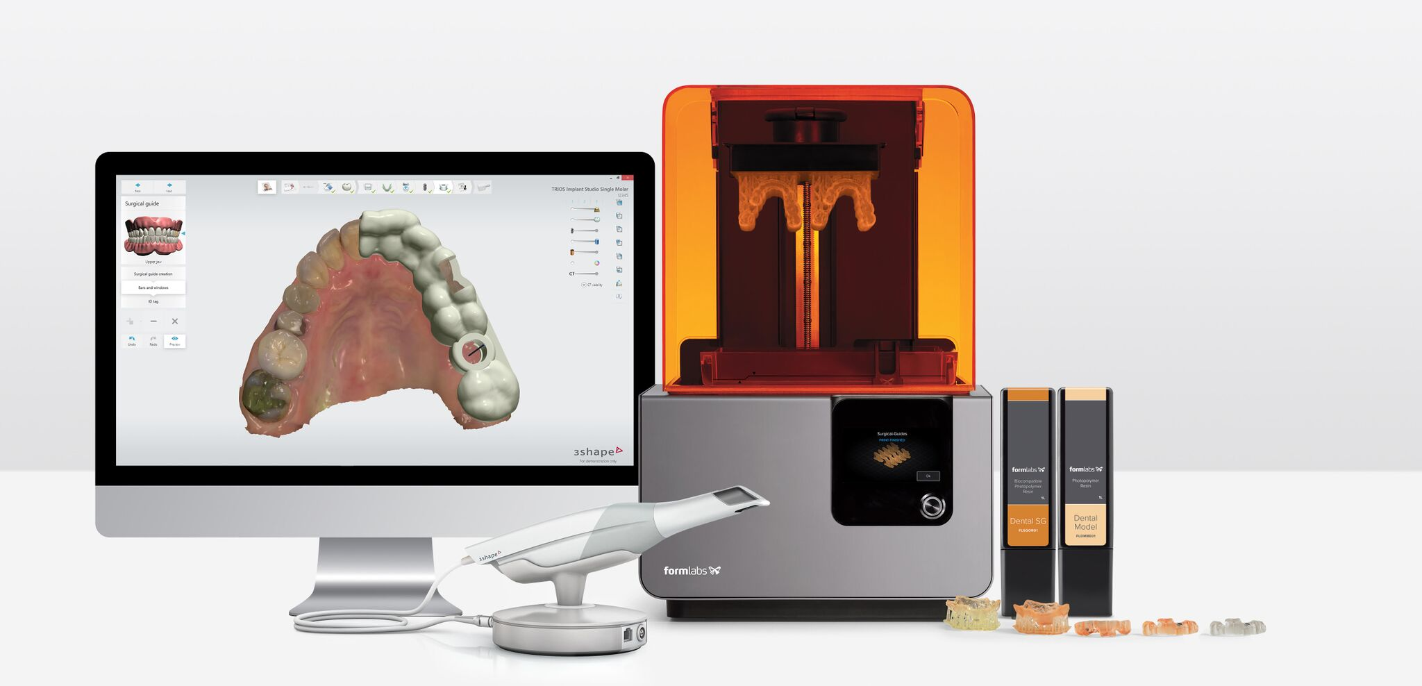 Formlabs and 3shape Announce Partnership to Introduce Software
